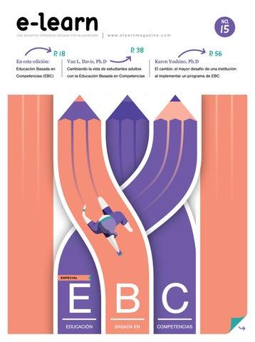 E Learn Issue 15 Educación Basada En Competencias By E