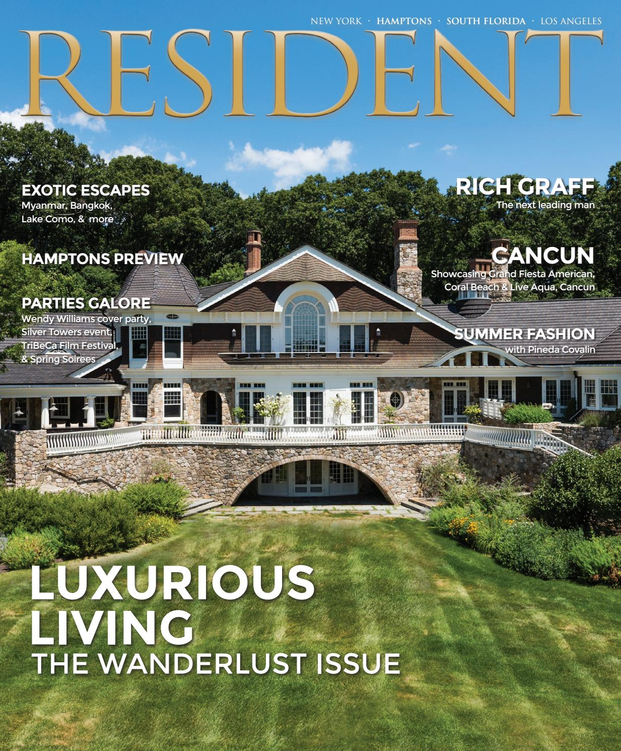 59c71b7314 Resident Magazine May 2017 Issue - Luxurious Living (New York ...