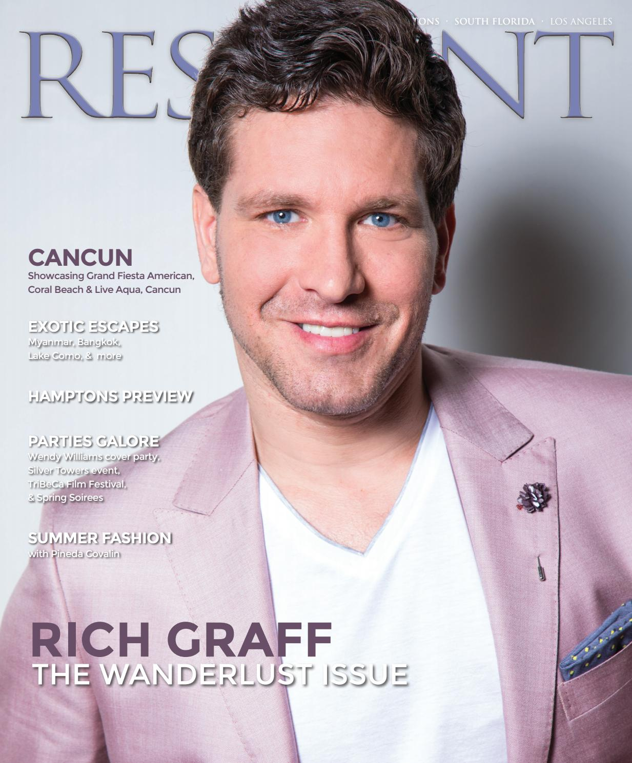 Resident Magazine May 2017 Issue - Rich Graff (New York, Hamptons ...