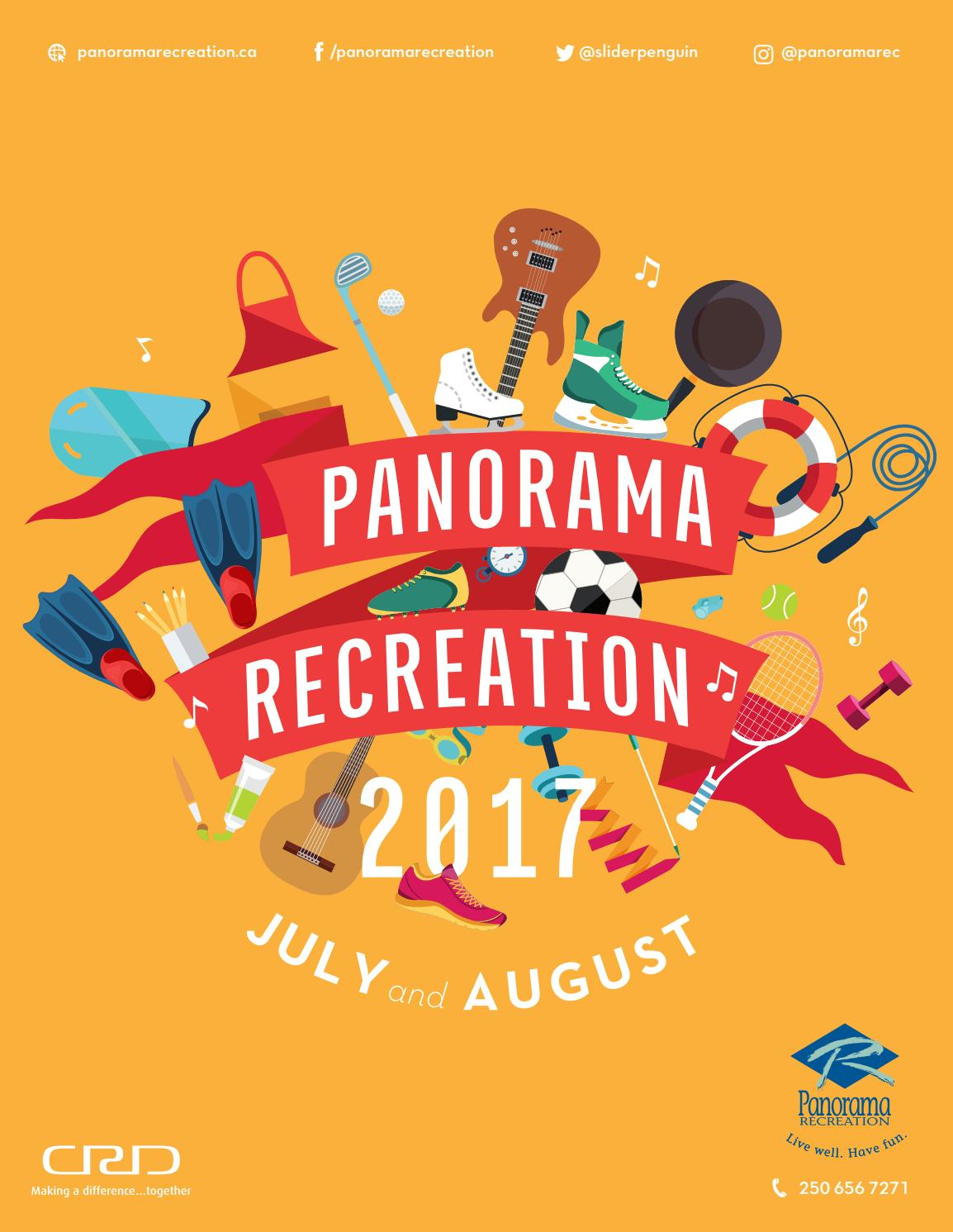 Panorama Recreation Summer 2017 Active Living Brochure by Panorama  Recreation - issuu