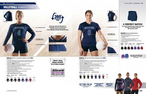 Alleson Athletic Volleyball Catalog - ShopLTS com
