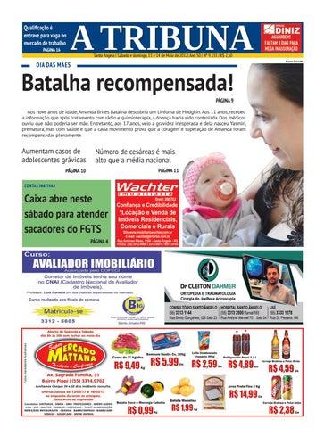 Jornal a tribuna 13 e 14 de maio de 2017 by Jornal A Tribuna - Santo ... 5d4798aea9