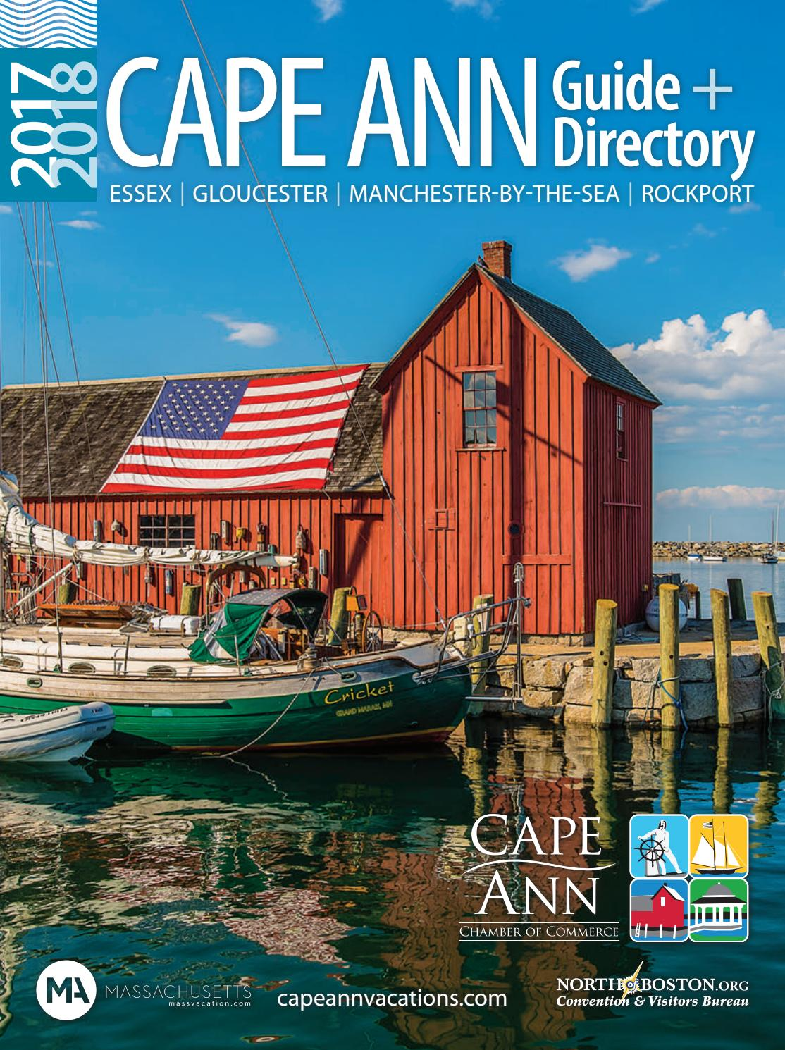 Cape Ann Guide Directory 2017 2018 By