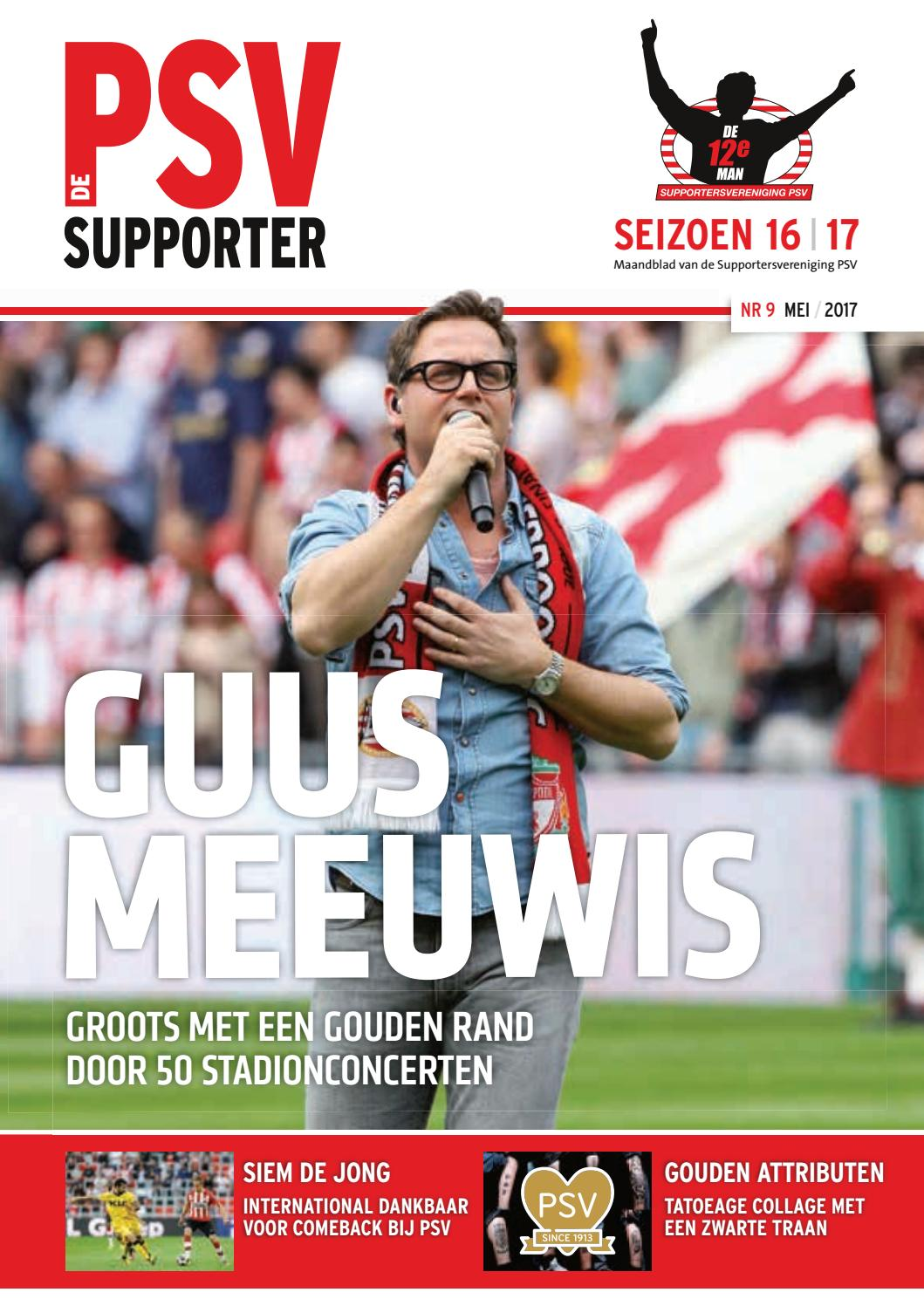5bbcd3816e5 De PSV Supporter mei 2017 by Supportersvereniging PSV - issuu