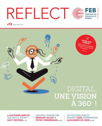 REFLECT n°13 FR Digital, une vision à 360° by VBO-FEB - issuu 9d3ff80af9f