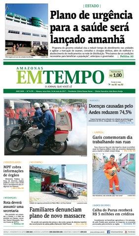 d3acd41541b EM TEMPO - 16 de maio de 2017 by Amazonas Em Tempo - issuu