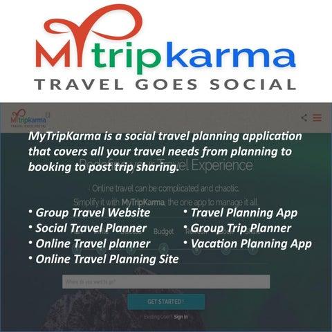 online trip planner