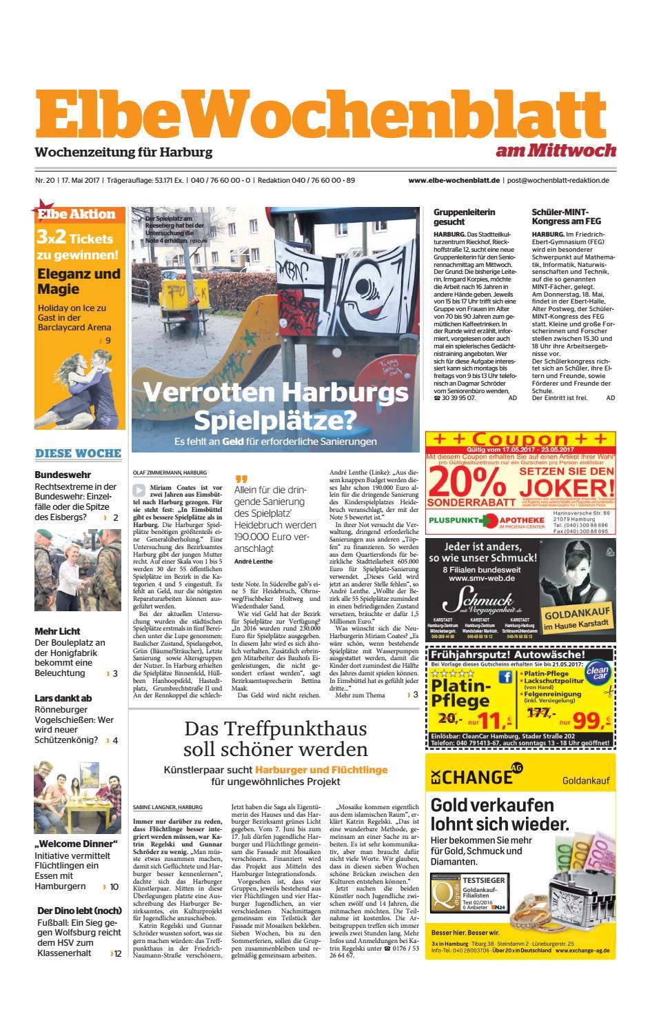 Harburg KW20-2017 by Elbe Wochenblatt Verlagsgesellschaft mbH & Co.KG -  issuu