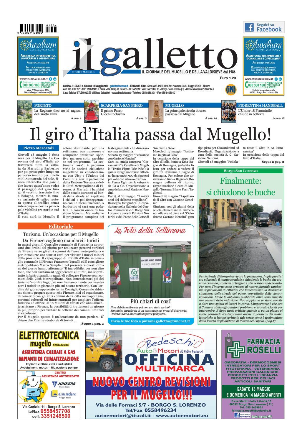 Galletto 1304 Del 13 Maggio By Il Galletto Giornale Issuu