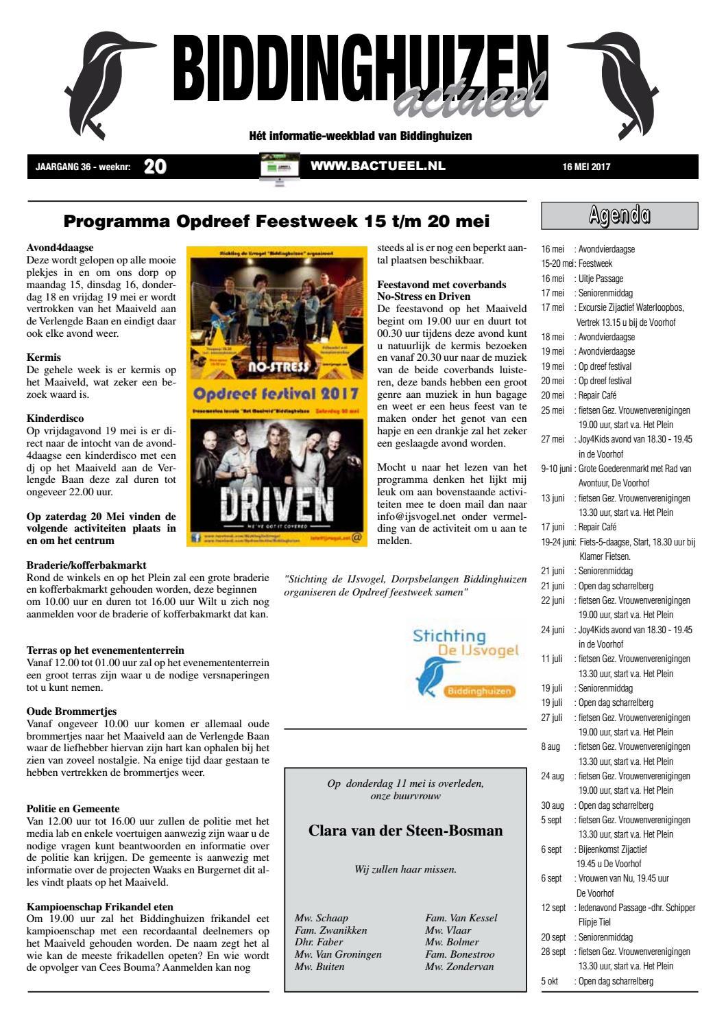 c8d8a028d9d Biddinghuizen Actueel - Nummer 20 by Biddinghuizen Actueel - issuu