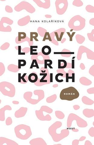 96073130a6d Hana Kolaříková  Pravý leopardí kožich — ukázka by Host ...