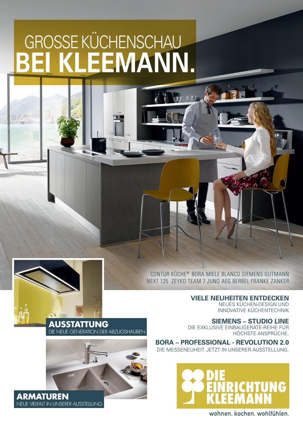 Kleemann - Küchenmagazin 2017 by Perspektive Werbeagentur - issuu