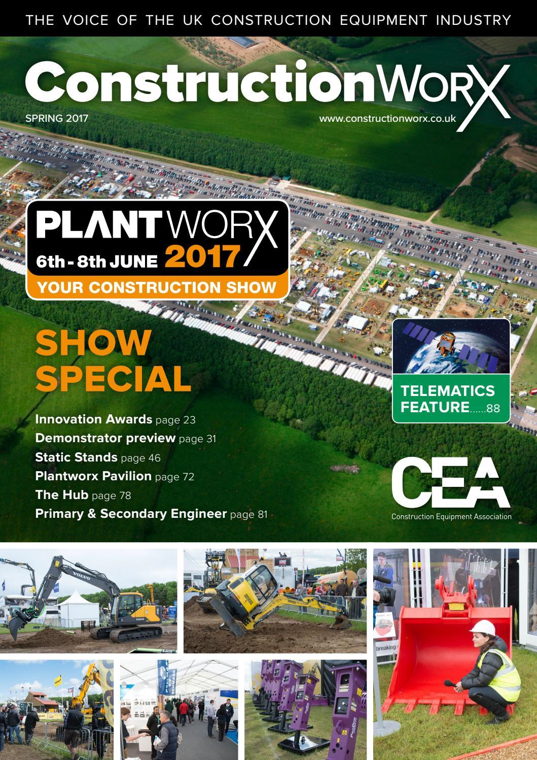 ConstructionWorX - Spring 2017 - PLANTWORX Issue by