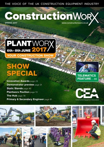 ConstructionWorX - Spring 2017 - PLANTWORX Issue by