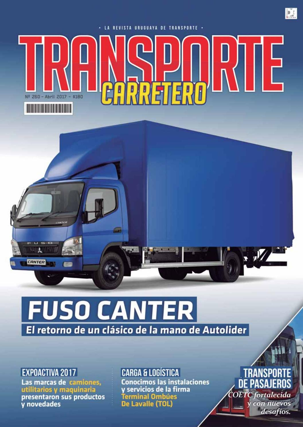 Transporte Carretero Nº 260 - Abril 2017 by Diseño Producciones - issuu