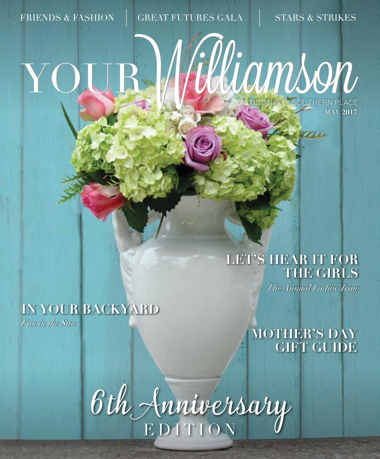 Your williamson may 2017 by your williamson a distinctively your williamson may 2017 by your williamson a distinctively southern place issuu izmirmasajfo