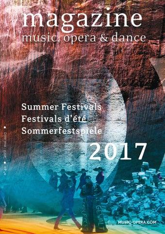 Magazine Music Opera Dance 2017 By Violaine Thielen Issuu
