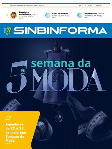 16172c977 Sinbinforma - Ano XV - Nº 146 - Maio 2017 by Sinbi Birigui - issuu