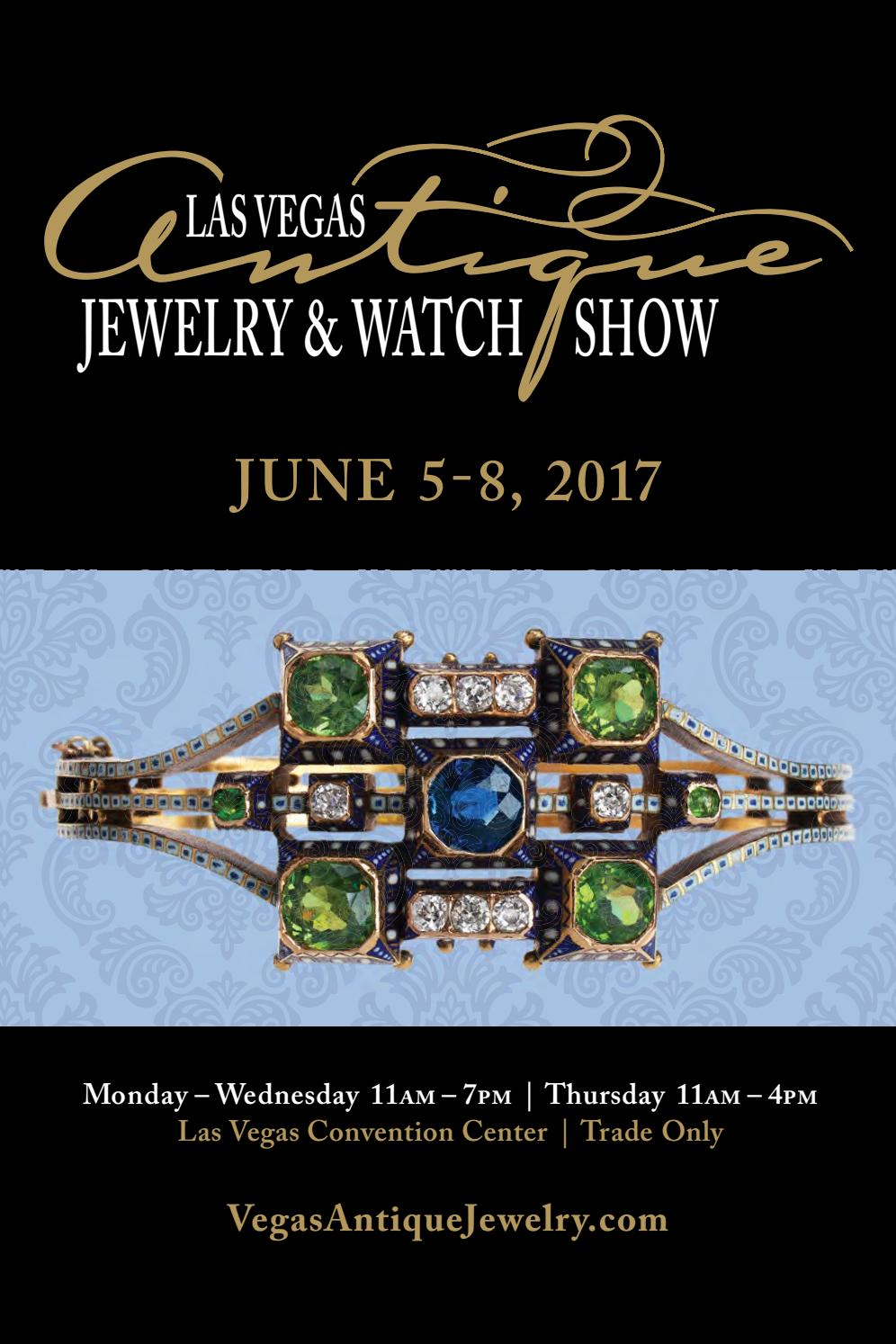 the las vegas antique jewelry watch show directory 2017