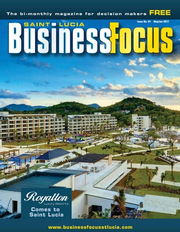 St  Lucia Business Focus 91 by AMS St  Lucia - issuu