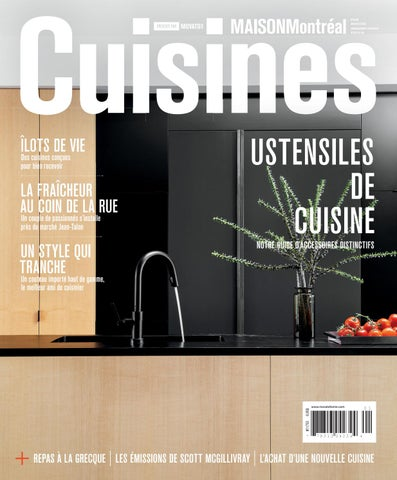 CanadaDesign 2016 By In Home Montréal Cuisines Maison IEDW92H