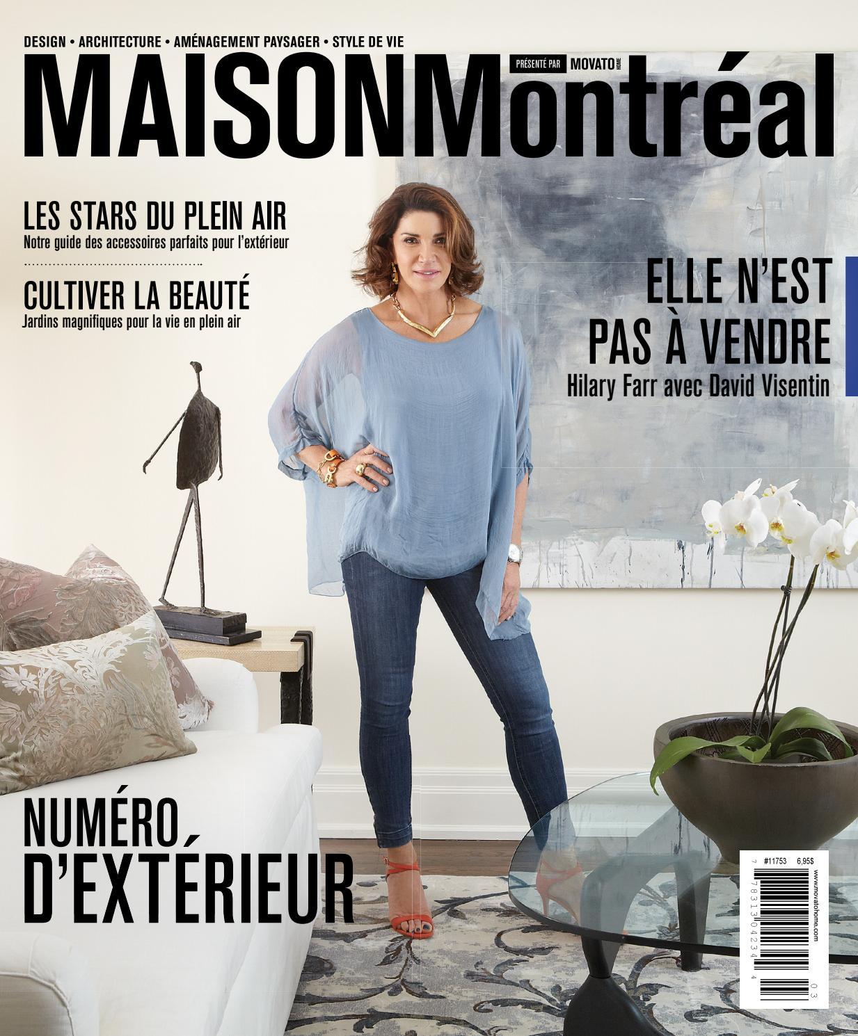 Maison Montr Al Summer 2016 By Movatohome Design  # Bibliotheque Moderne Design Panneau Coulissant