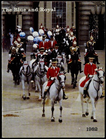 The Blue And Royal The Blue And Royal 1982 By RHG D Reg Sec
