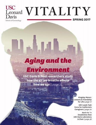Vitality by the USC Davis School of Gerontology, Spring 2016 by