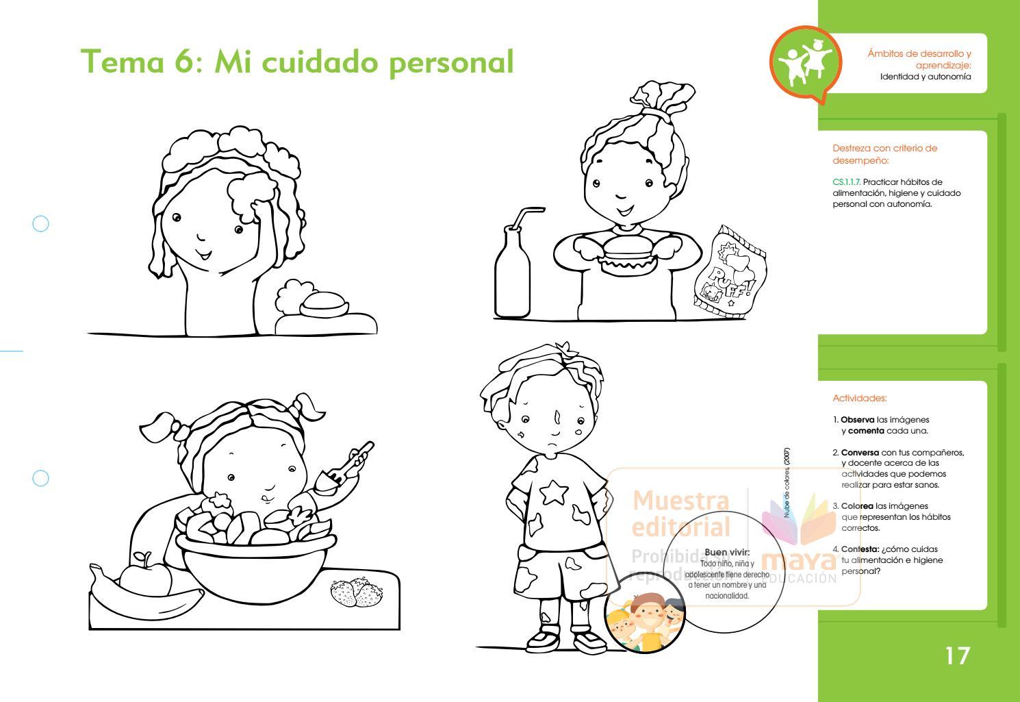 Caracolitos Preparatoria 1 Muestra Editorial Maya Educación By