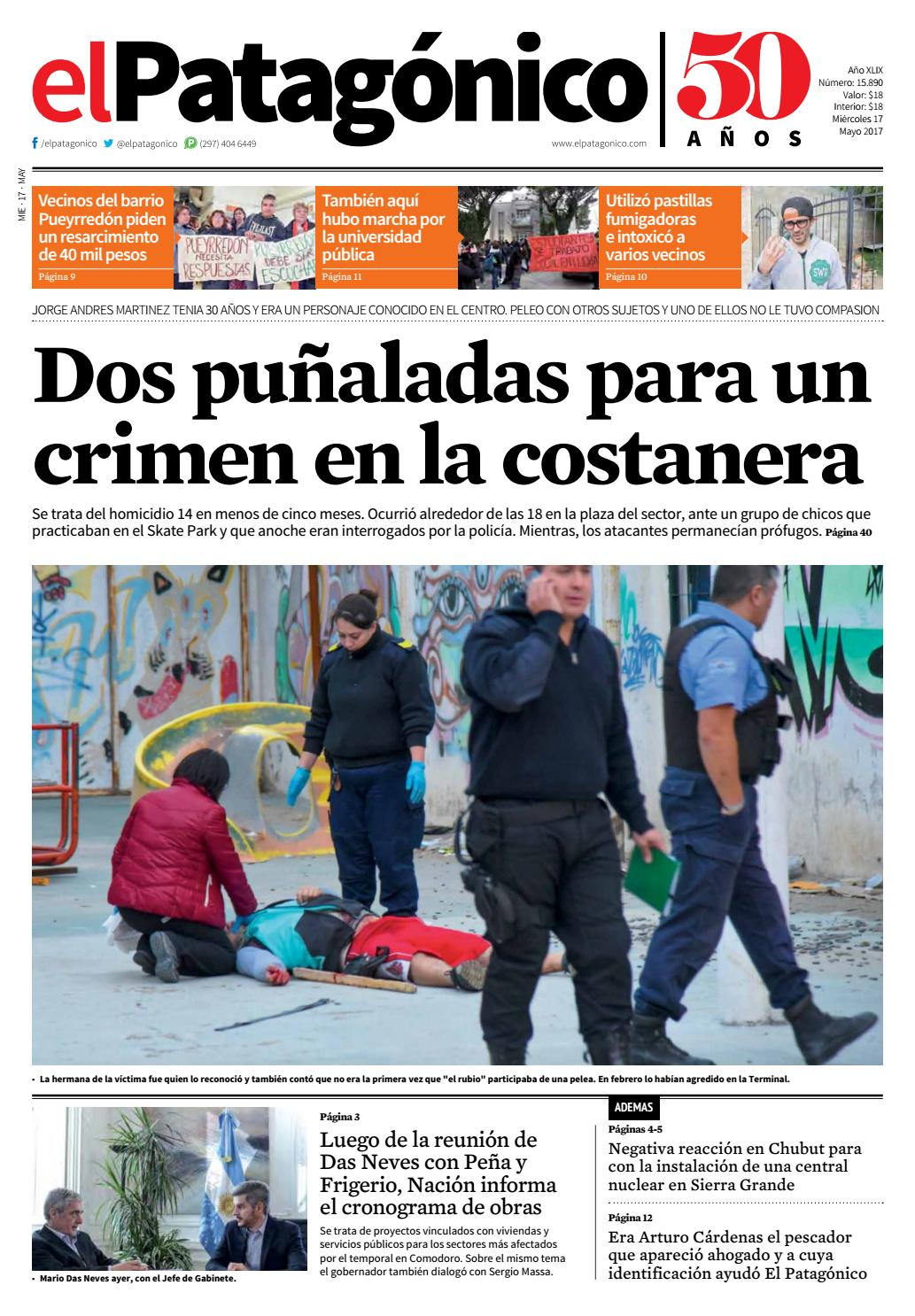 edicion223116052017.pdf by El Patagonico - issuu