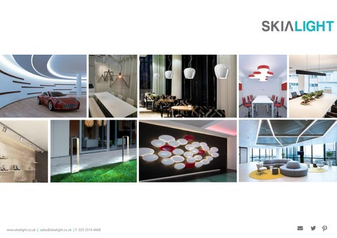 Molto luce architectural lighting distributed byskialight by