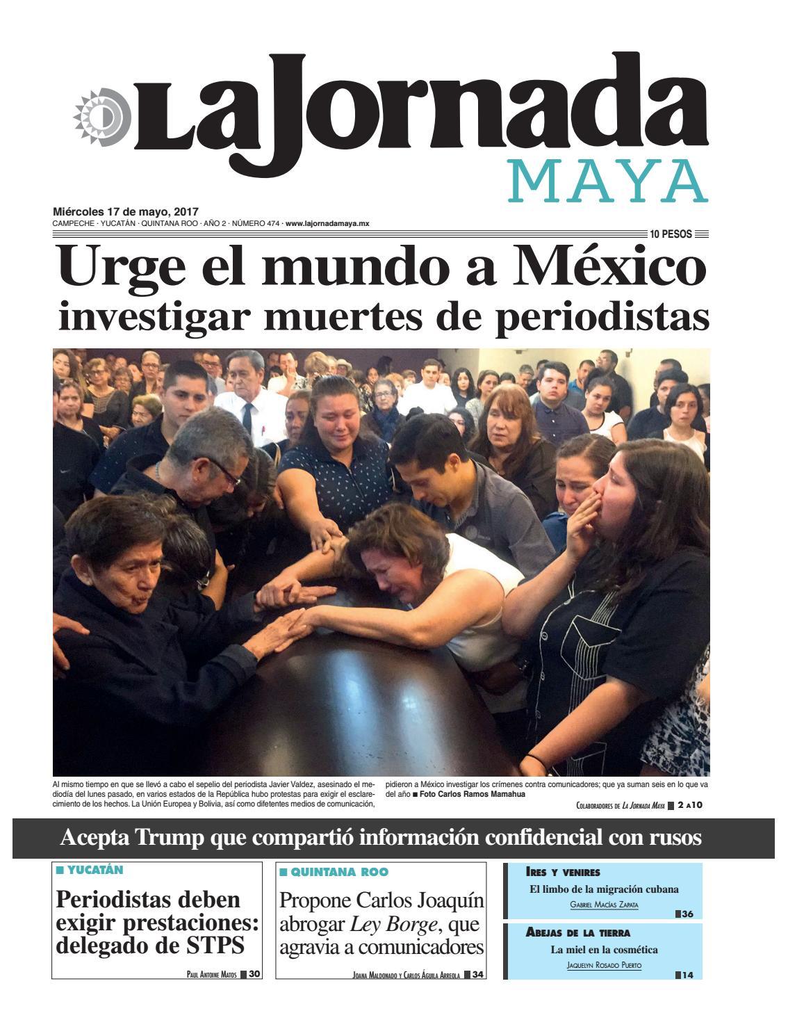 La Jornada · Miércoles 17 de mayo e97bb184f52f4
