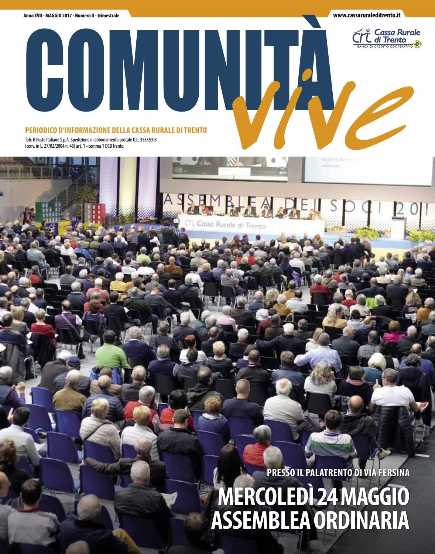 Unit Vive Maggio 2017 By Cassa Rurale Di Trento Issuu