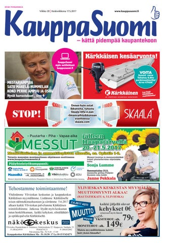 finest selection 3f615 ed9d8 KauppaSuomi 20 2017 (K-P) by KauppaSuomi - issuu