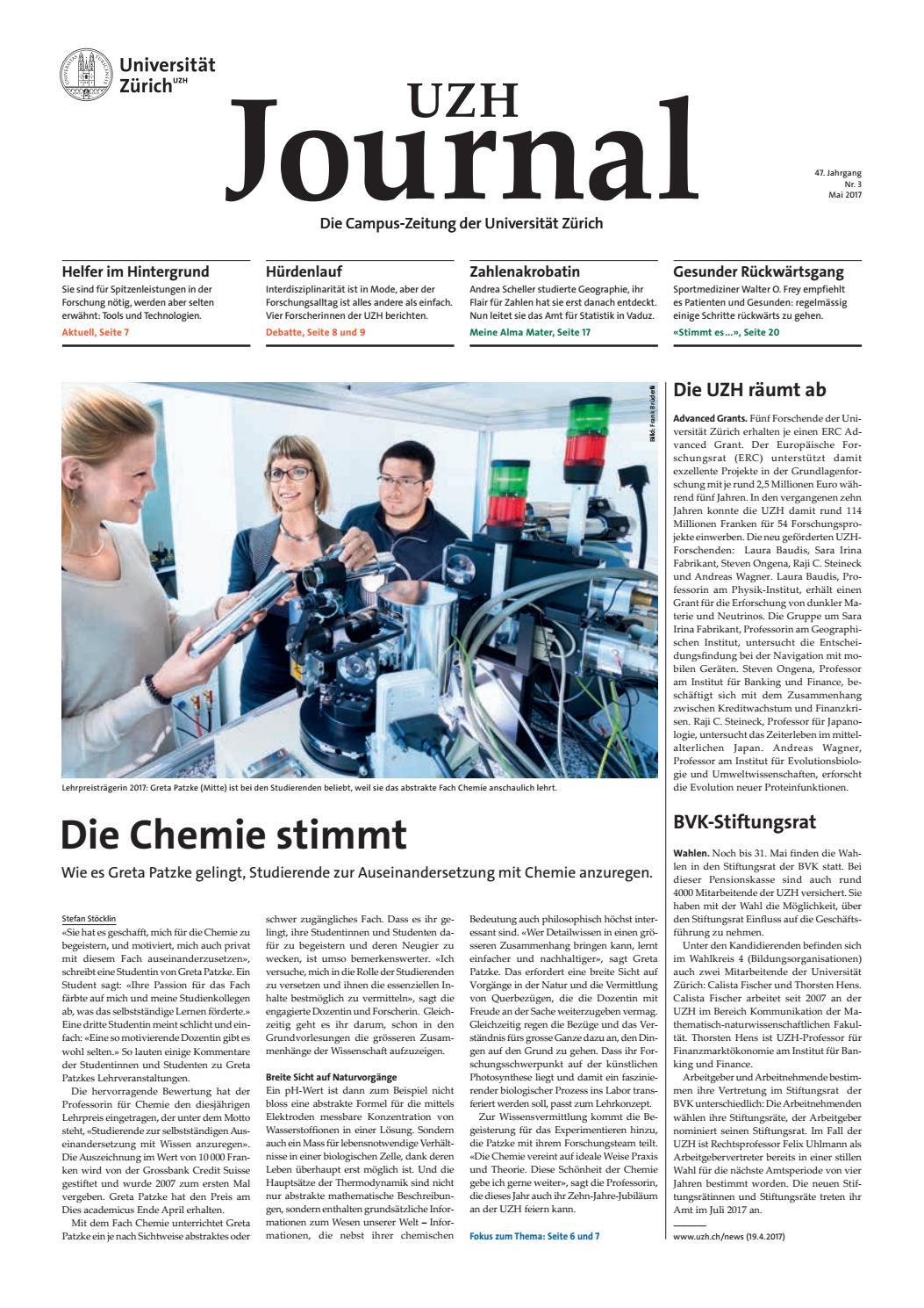 UZH Journal 3/17 by University of Zurich - issuu