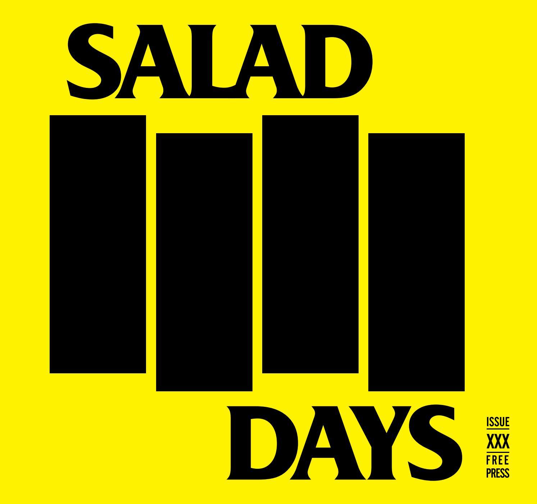 Salad Days Magazine #30 by SALAD DAYS MAG issuu