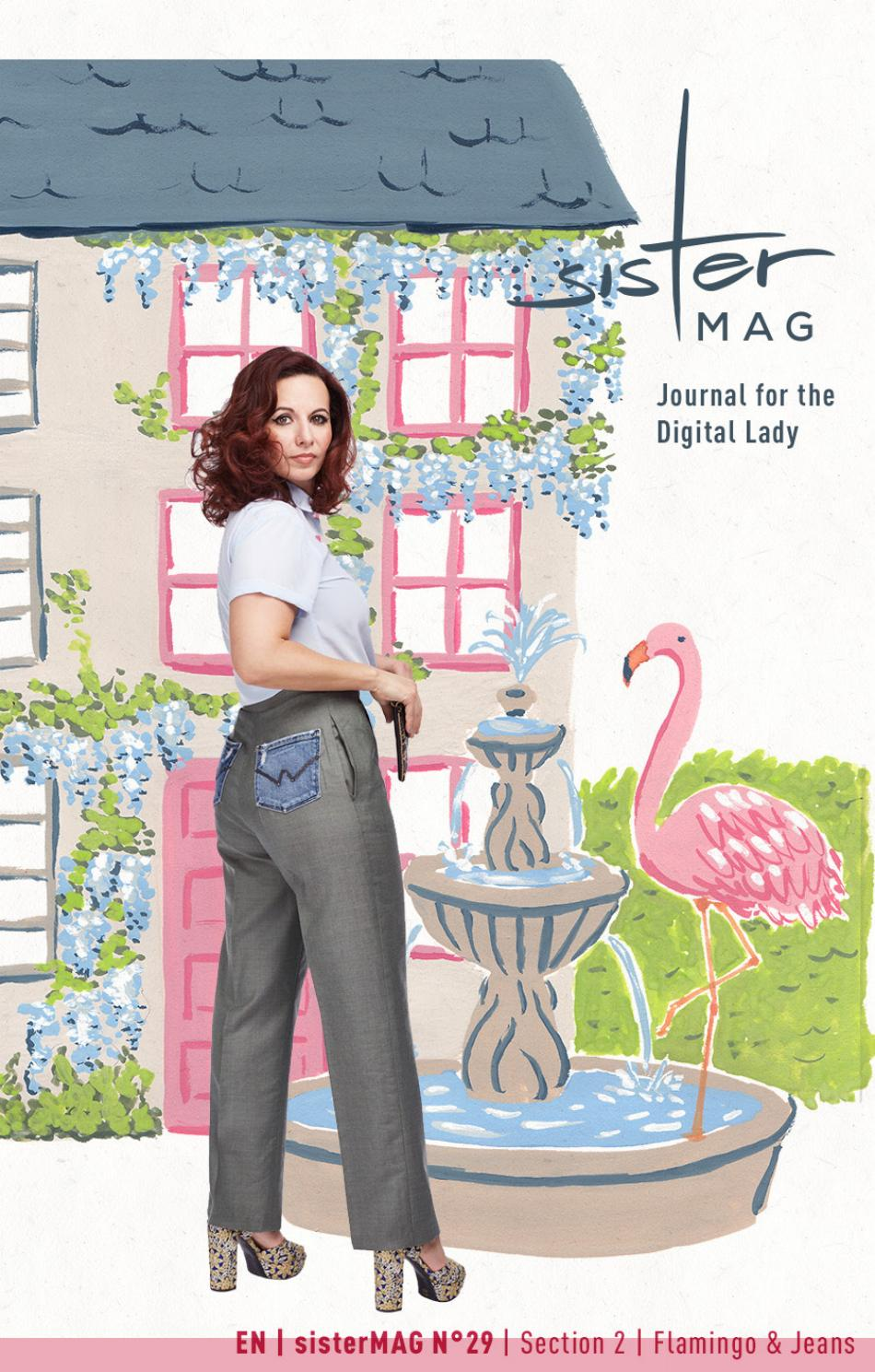 c8fdcfe78 sisterMAG 29 – Flamingo   Jeans – Section 2 by sisterMAG - issuu