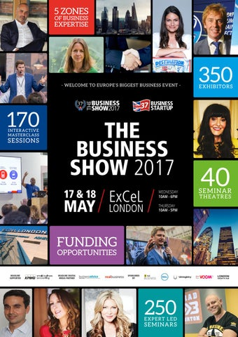 The Business Show 2017 Show Guide By Prysm Group Issuu
