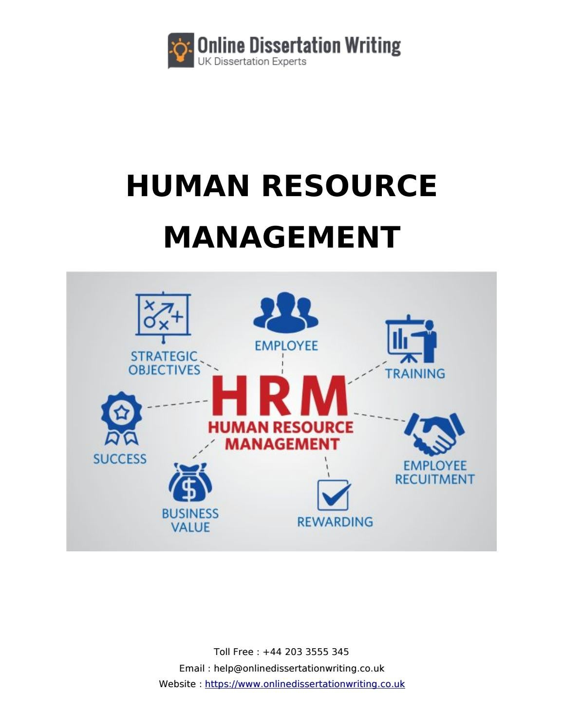 human resources management dissertations How about Some Fun Facts about our agency?