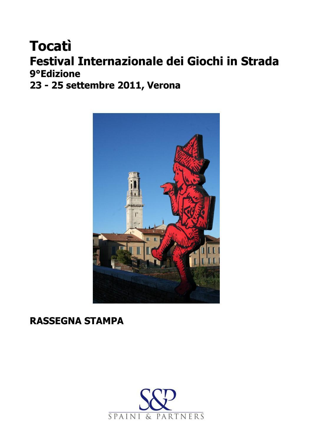 2011 Rassegna Stampa By Tocat Festival Internazionale Dei  # Meuble Tv Egizia