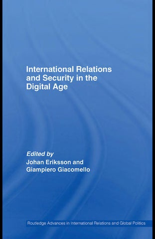 International relations and security in the digital age by tarik page 1 fandeluxe Image collections