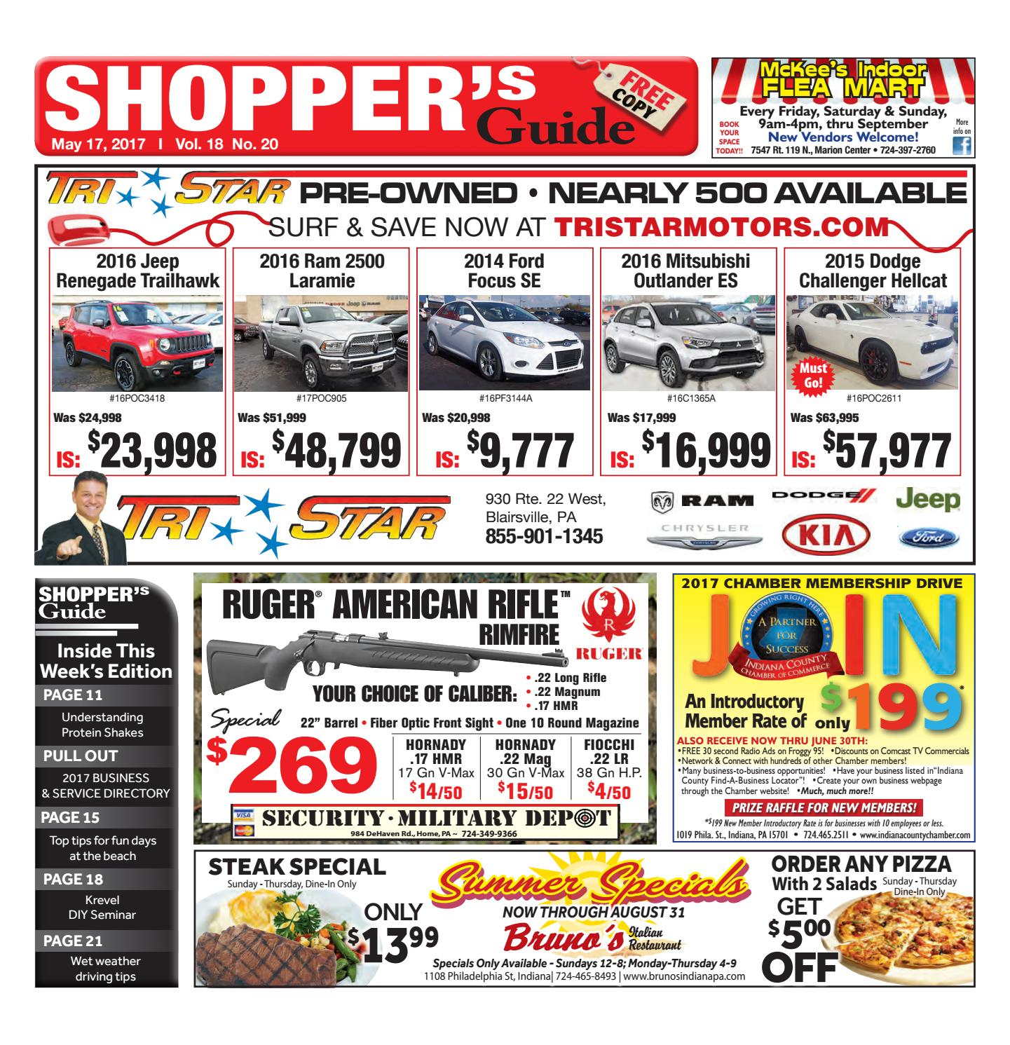 The Indiana Gazette Shoppers Guide May 17 2017 by Indiana Printing