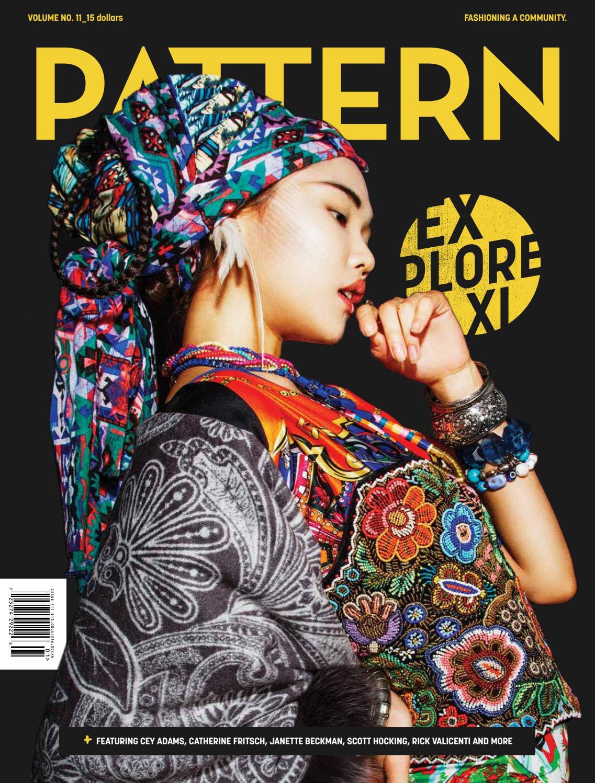 Pattern Magazine Unique Decoration