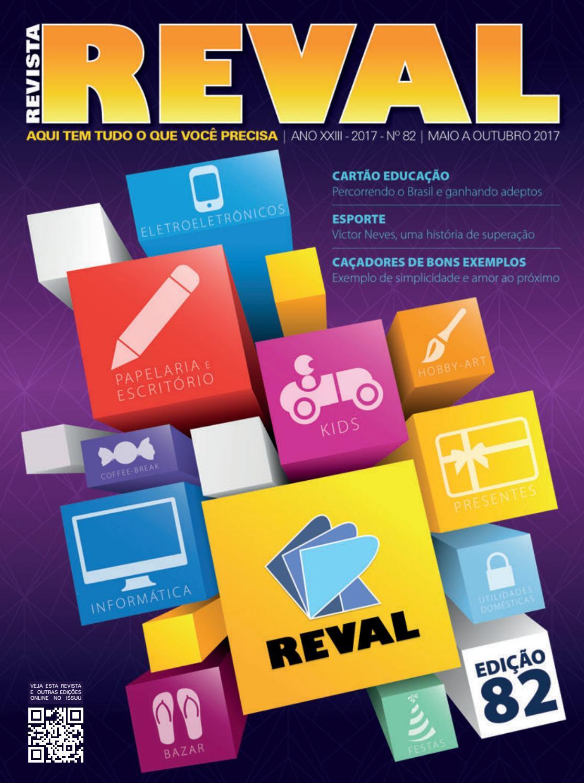 75b5da22f1f Revista Reval 82 - Parte 01 by Reval Atacado de Papelaria Ltda. - issuu