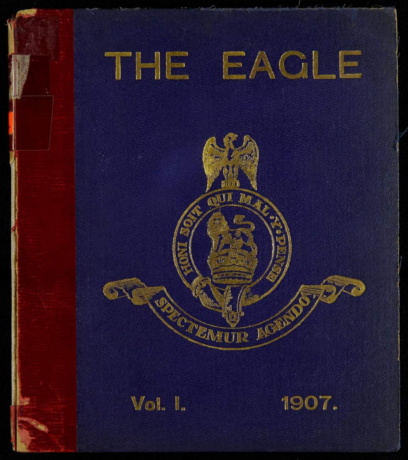 The eagle royal dragoons bound books the eagle 1907