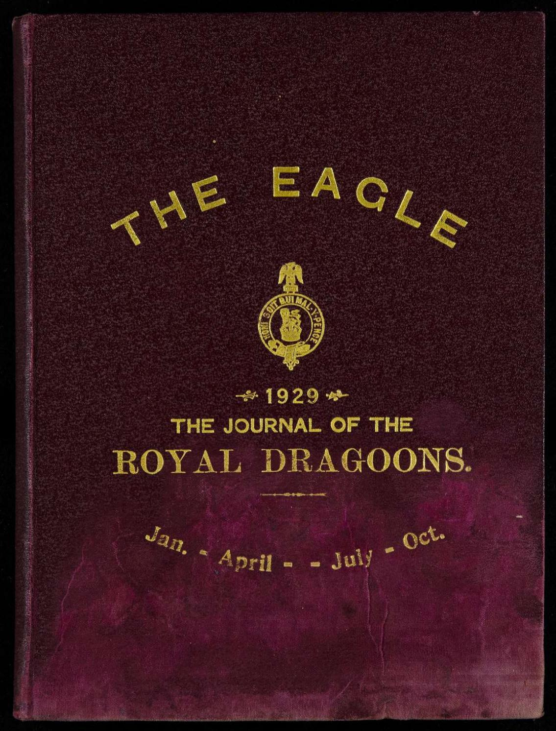 The eagle royal dragoons bound books the eagle 1929 ilovepdf compressed by  RHG/D Reg Sec - issuu