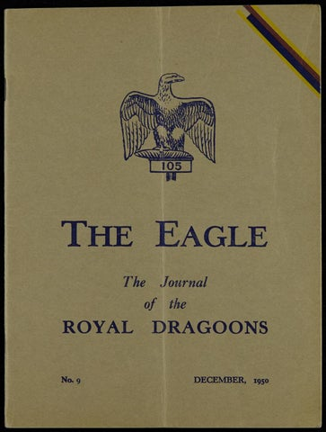 43795170af9d The eagle royal dragoons magazines the eagle december 1950 by RHG D ...