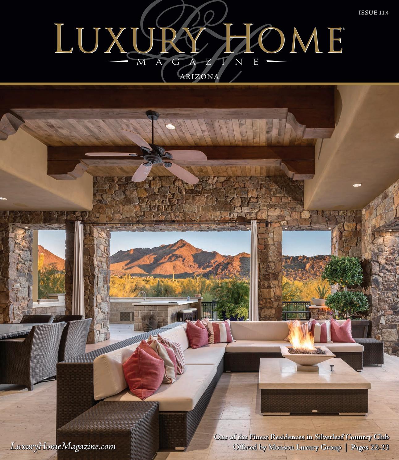 luxury home magazine arizona issue 11 4 by luxury home magazine issuu. Black Bedroom Furniture Sets. Home Design Ideas