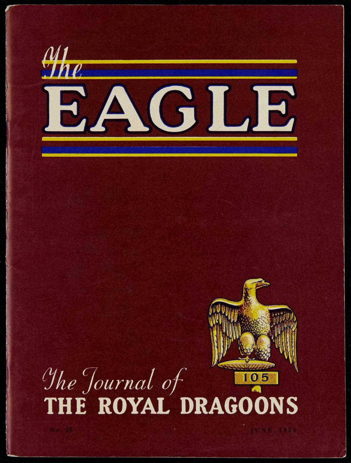 The eagle royal dragoons magazines the eagle 1958 by RHG/D
