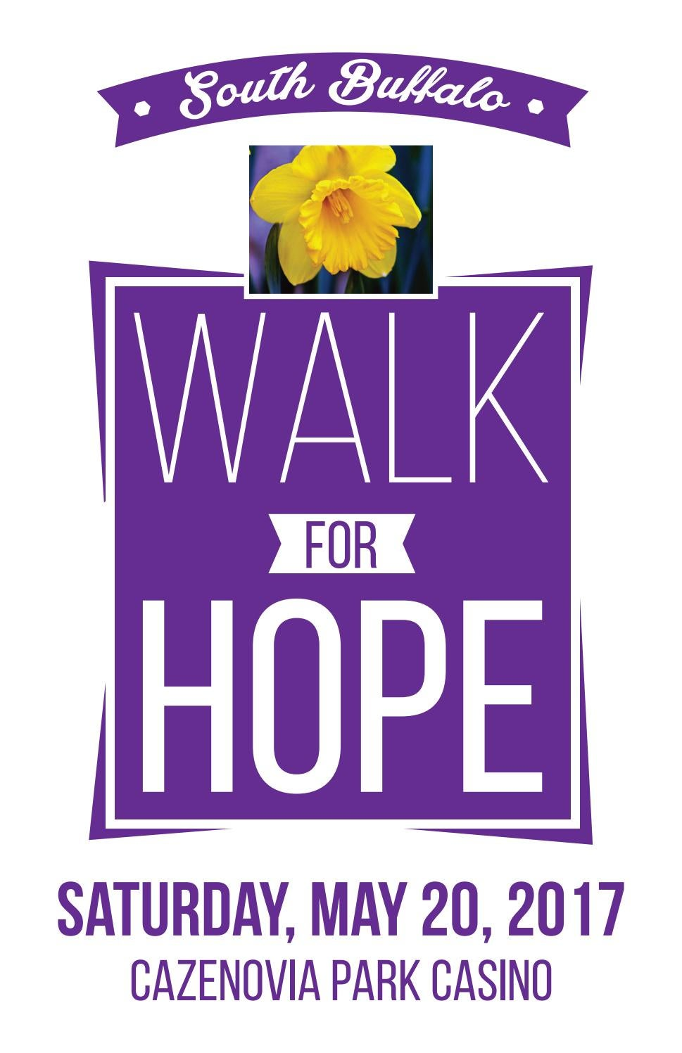 South Buffalo Walk For Hope 2017 By SB Marketing LLC